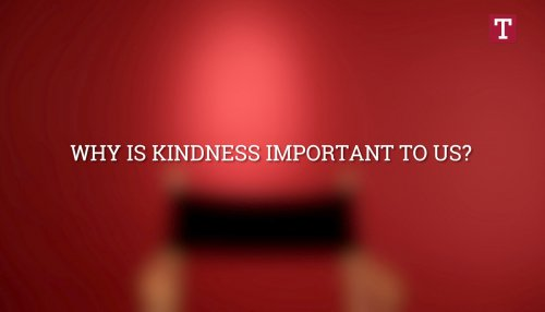 Does Kindness Matter?