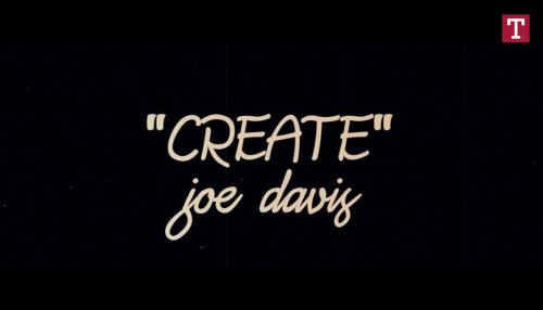 Joe Davis–Creativity